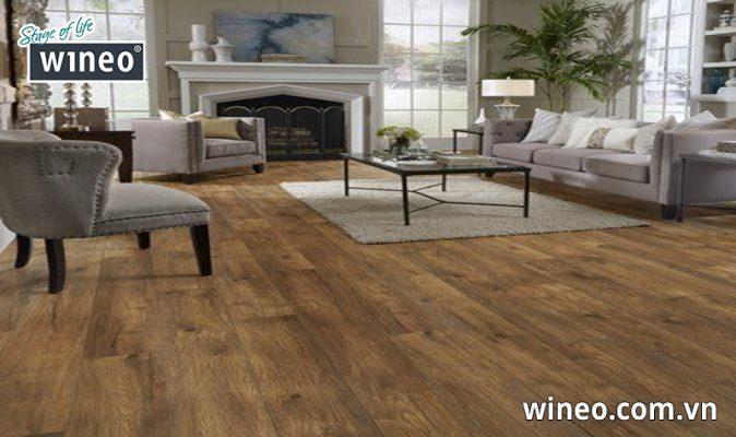 Sàn gỗ công nghiệp có độ bền cao