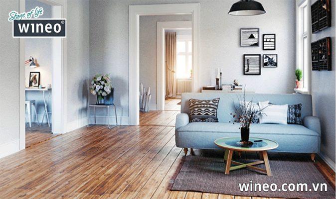 Sàn gỗ Đức có tính thẩm mỹ vượt trội