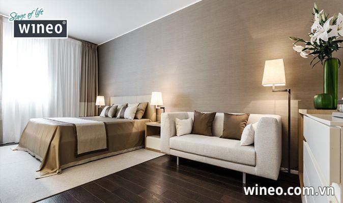 Màu sàn gỗ Wineo mang phong cách hiện đại sang trọng
