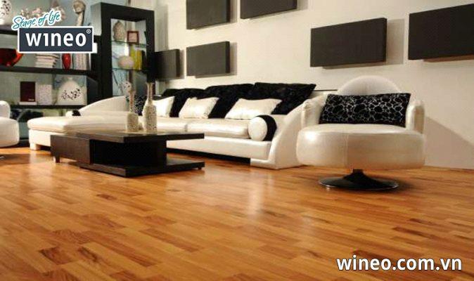 Sàn gỗ Wineo là sàn gỗ công nghiệp sô 1 tại Đức và được người tiêu dùng trên khắp thế giới yêu thích lựa chọn